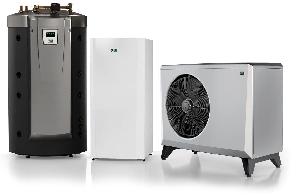 Wärmepumpen Heizsystem